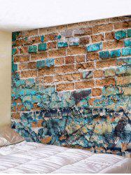 Abstract Brick Pattern Tapestry Wall Decoration -