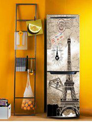Eiffel Tower Print DIY Fridge Sticker -