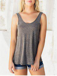 Studded Embellished Casual Sleeveless Tee -