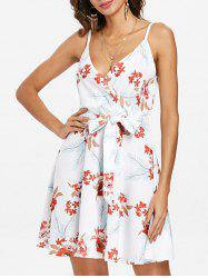 Floral Casual Sleeveless Dress -