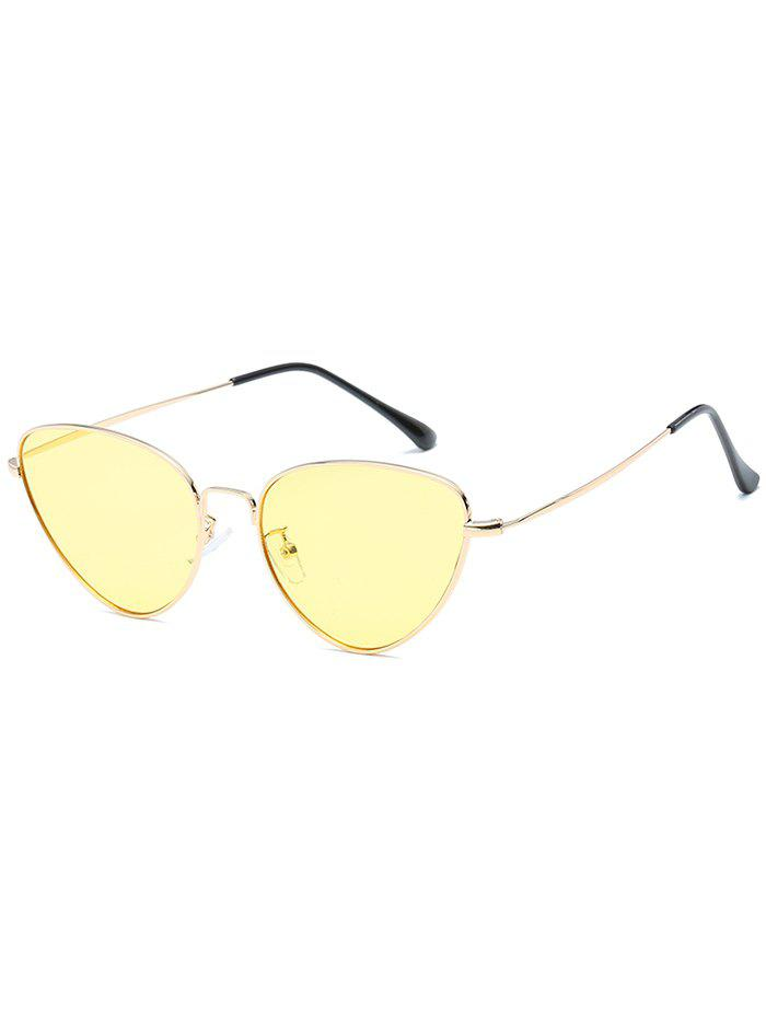 Buy Vintage Metal Full Frame Catty Sunglasses