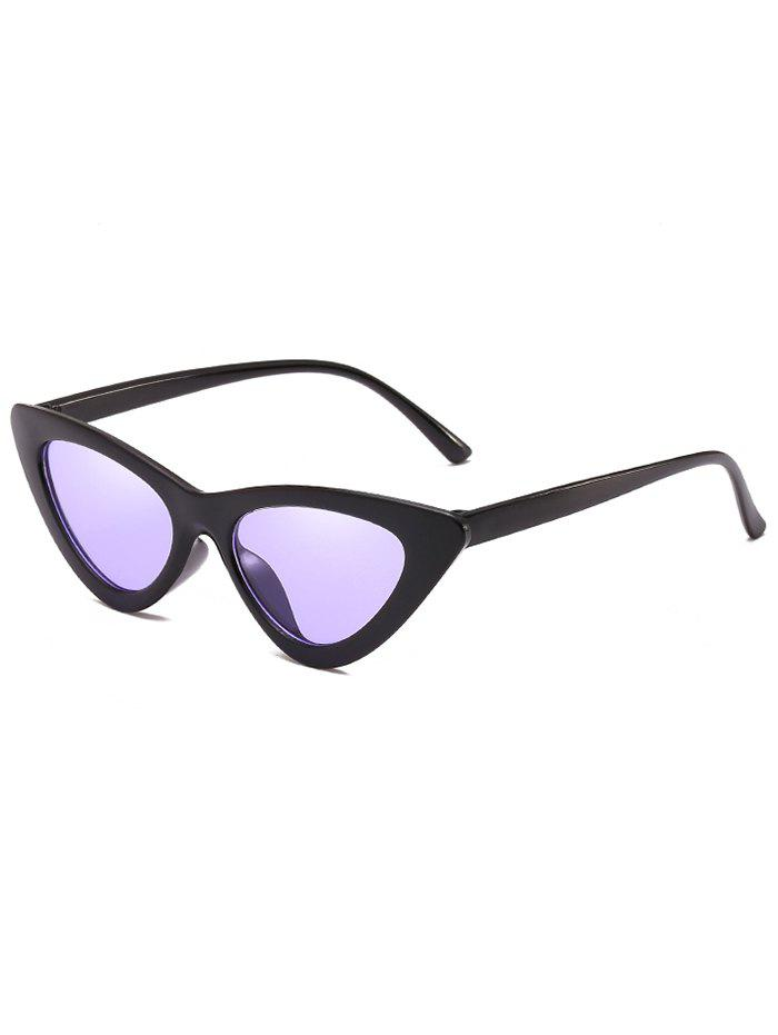 Online Unique Plastic Frame Flat Lens Catty Sunglasses