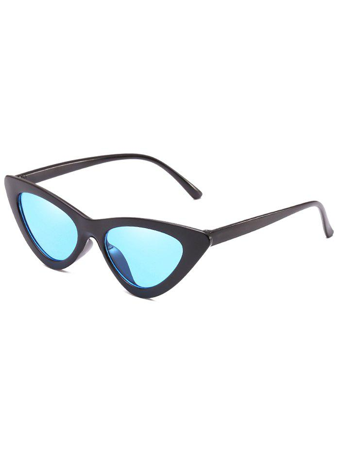 Sale Unique Plastic Frame Flat Lens Catty Sunglasses