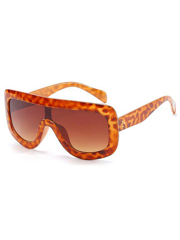 New Anti UV Oversized Shield Sunglasses