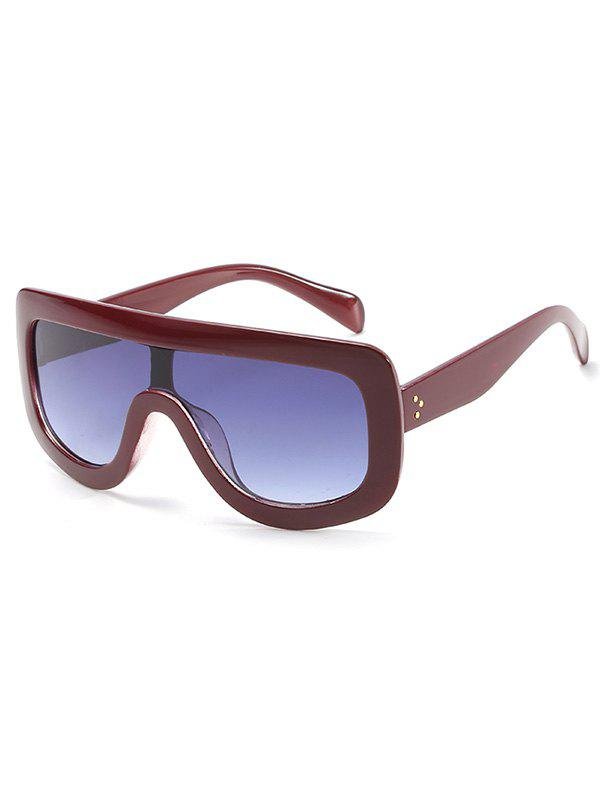 Best Anti UV Oversized Shield Sunglasses