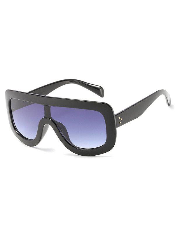 Buy Anti UV Oversized Shield Sunglasses
