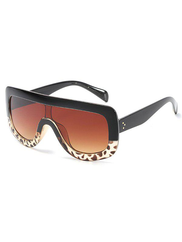 Outfit Anti UV Oversized Shield Sunglasses