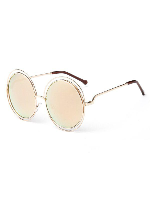 Store Unique Hollow Out Frame Round Sunglasses