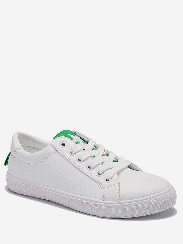Fashion Lace Up Low Heel Leisure Outdoor Sneakers