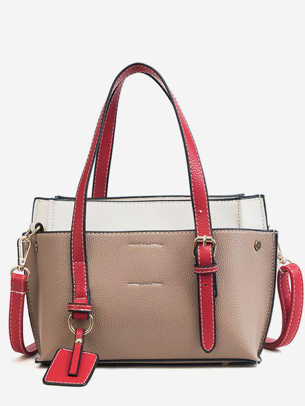 Latest Leisure Trip Functional Color Block Shoulder Bag