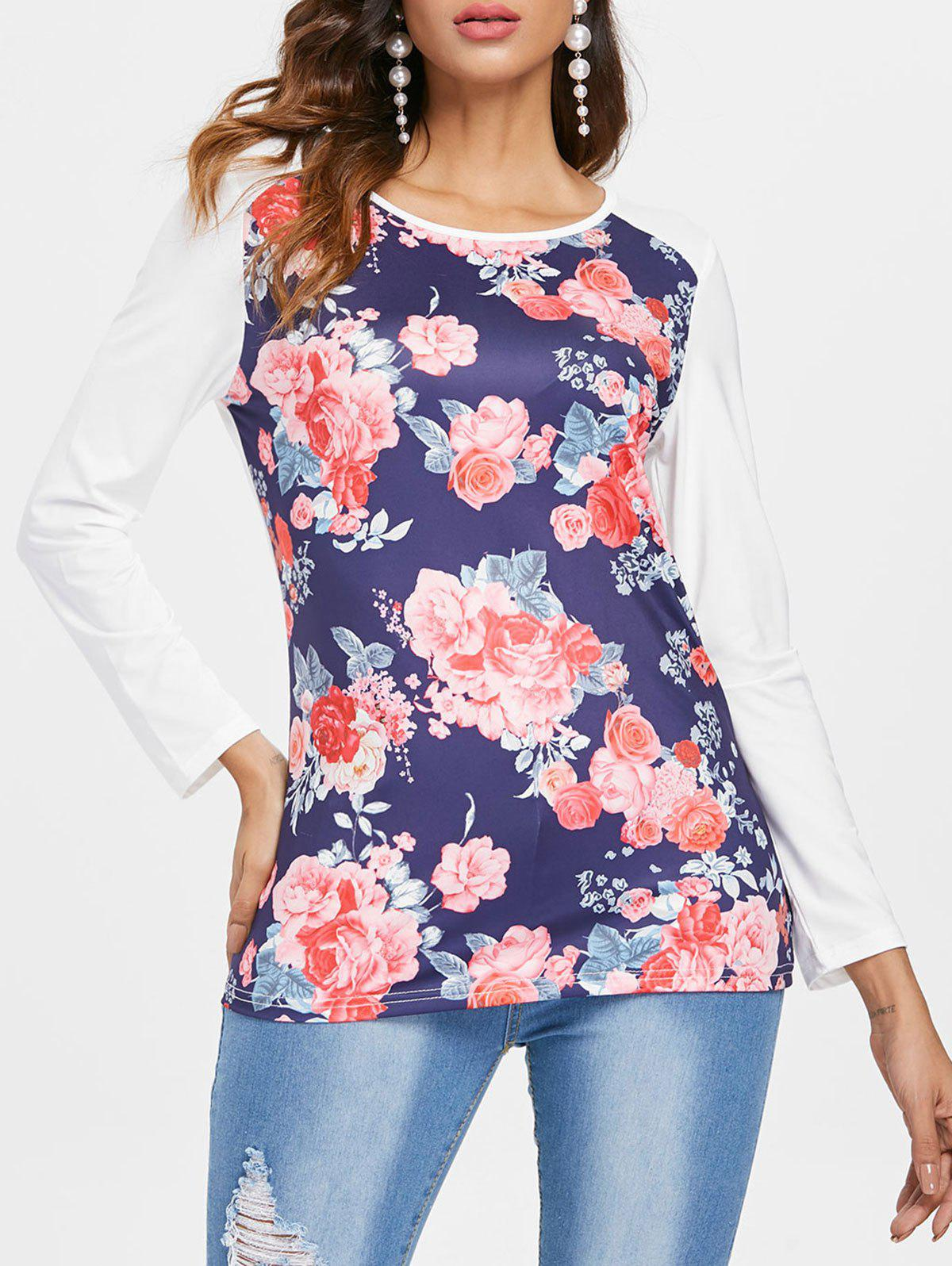 Store Floral Print T-shirt