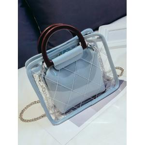 Jelly Lucid Chic Jelly 2 Pieces Handbag Set -