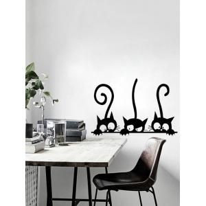 Funny Kitten Removable Wall Sticker -