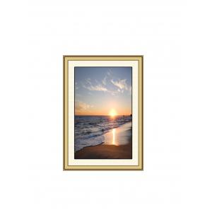 Sunrise Beach Print Wall Sticker for Bedrooms -