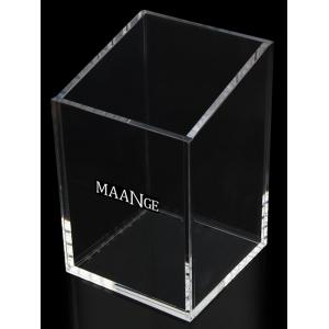 Acrylic Makeup Brush and Cosmetic Storage Holder -