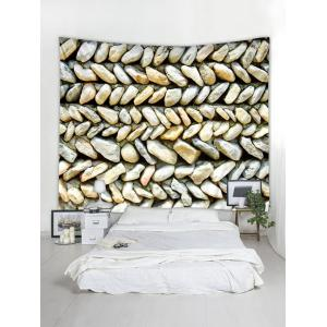 Wall Hanging Art Stones Wall Pattern Tapestry -