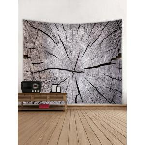 Wall Hanging Art Tree Growth Ring Print Tapestry -
