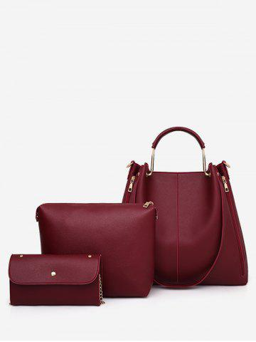 Shops 3 Pieces Casual Holiday Minimalist Tote Bag Set