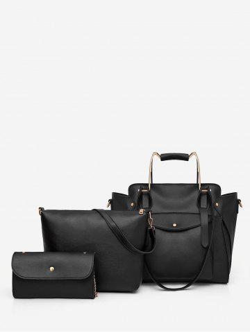 New 3 Pieces Minimalist Leisure Vacation Tote Bag Set