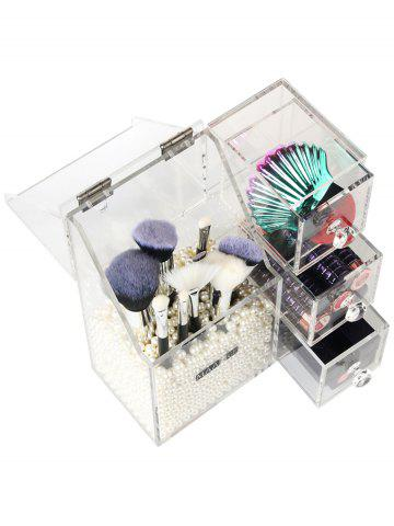 Shops Multipurpose Makeup Brush Cosmetic Tools Acrylic Storage Box
