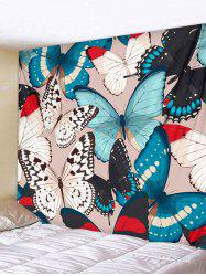 Butterflies Print Tapestry Wall Hanging Art Decoration -