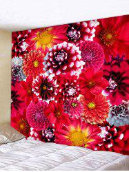 Wall Hanging Art Flowers Blossom Print Tapestry -
