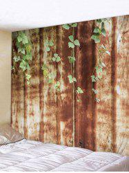 Wall Hanging Art Vine Leaf Print Tapestry -