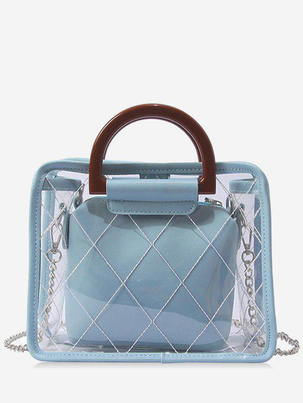 Shop Jelly Lucid Chic Jelly 2 Pieces Handbag Set