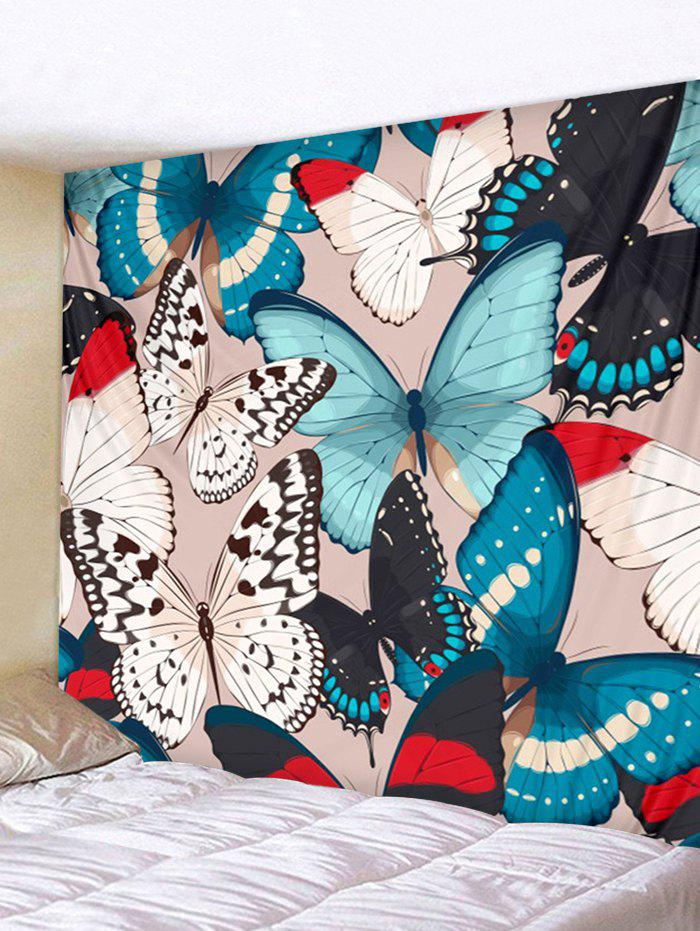 Discount Butterflies Print Tapestry Wall Hanging Art Decoration