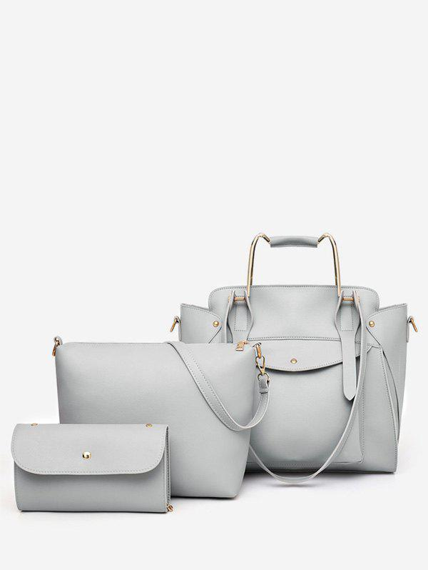 Outfits 3 Pieces Minimalist Leisure Vacation Tote Bag Set