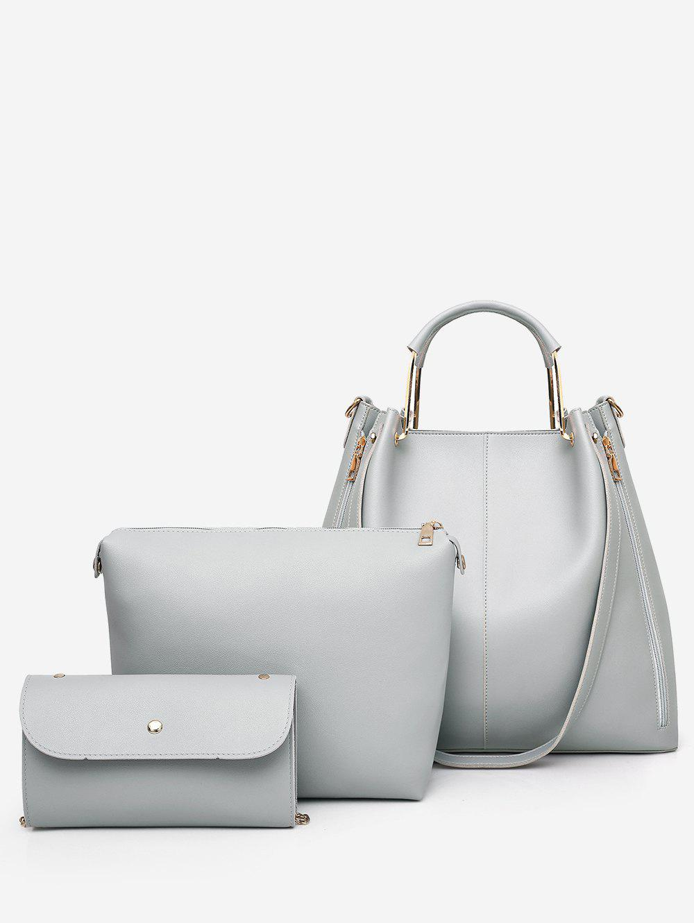 Latest 3 Pieces Casual Holiday Minimalist Tote Bag Set