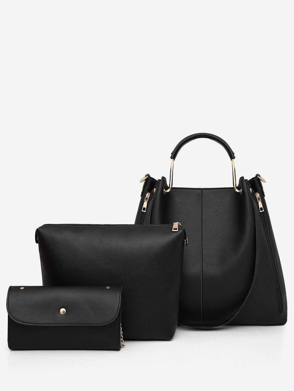 Hot 3 Pieces Casual Holiday Minimalist Tote Bag Set