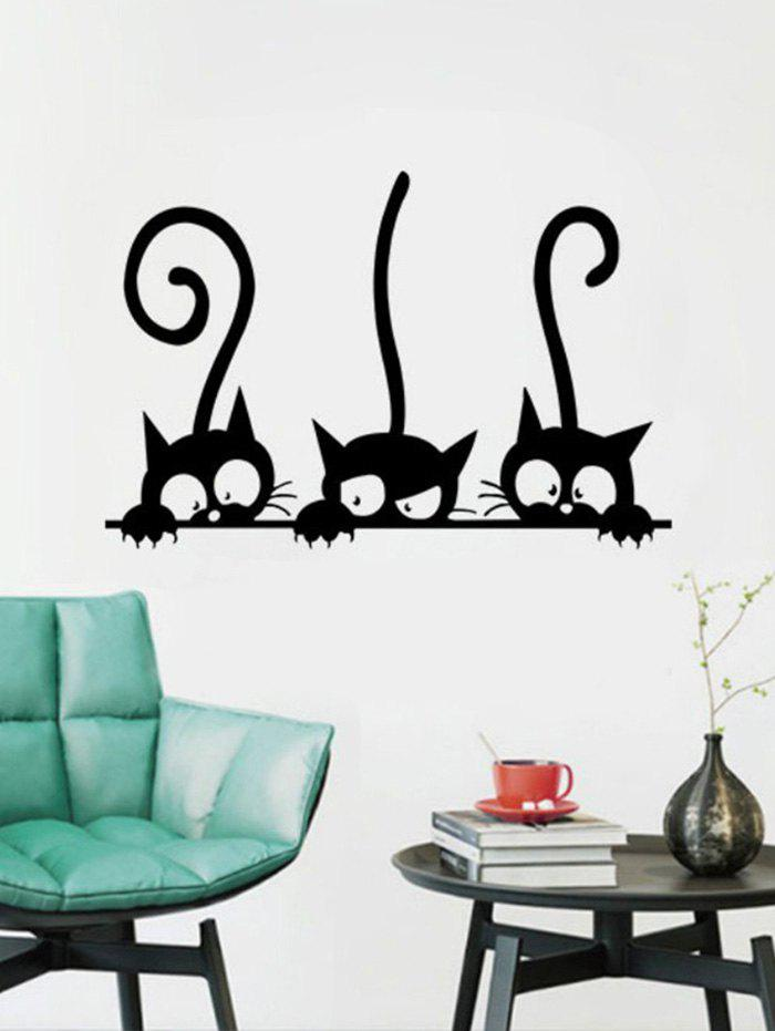 Buy Funny Kitten Removable Wall Sticker