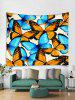 Wall Hanging Art Butterfly Print Tapestry -