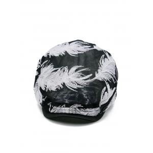 Feather Pattern Decorative Sunscreen Hat -