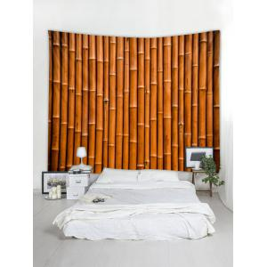 Bamboo Pattern Tapestry Hanging Decor -