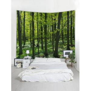 Forest Pattern Tapestry Hanging Decor -