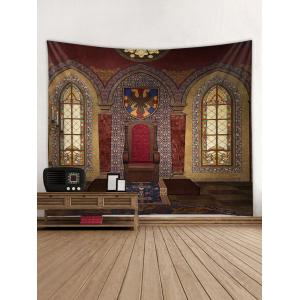 Wall Hanging Art Vintage House Print Tapestry -