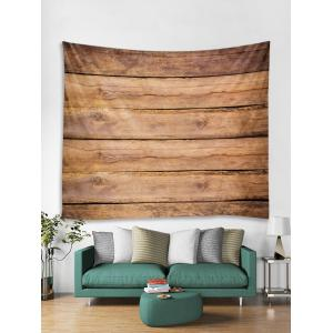 Wood Texture Background Print Wall Decor Tapestry -