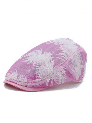 Buy Feather Pattern Decorative Sunscreen Hat