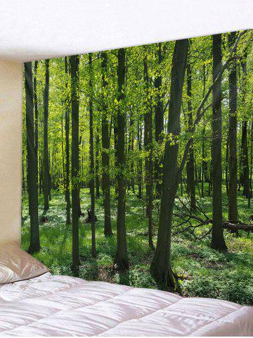 Affordable Forest Pattern Tapestry Hanging Decor