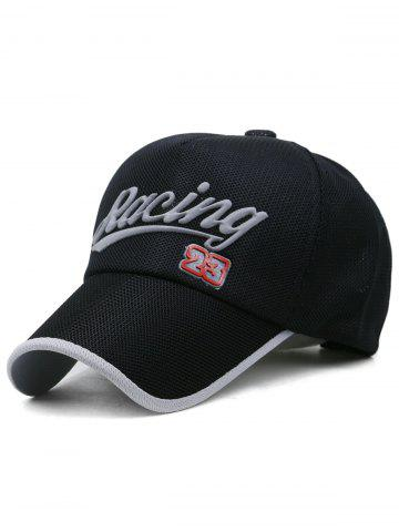 New Racing Pattern Decorative Sunscreen Hat