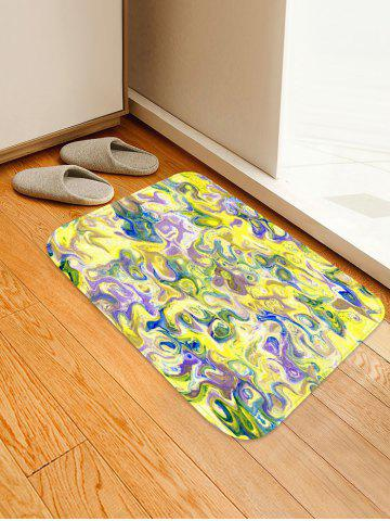 Outfits Impressionism Stones Pattern Non Slip Floor Rug