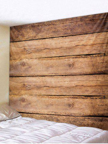 Outfits Wood Texture Background Print Wall Decor Tapestry