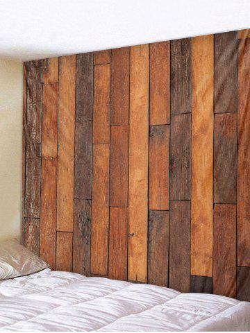 Buy Retro Wood Background Print Wall Tapestry