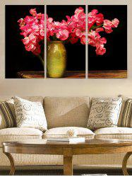Flower Vase Print Unframed Split Canvas Paintings -