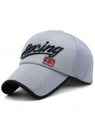 Racing Pattern Decorative Sunscreen Hat -