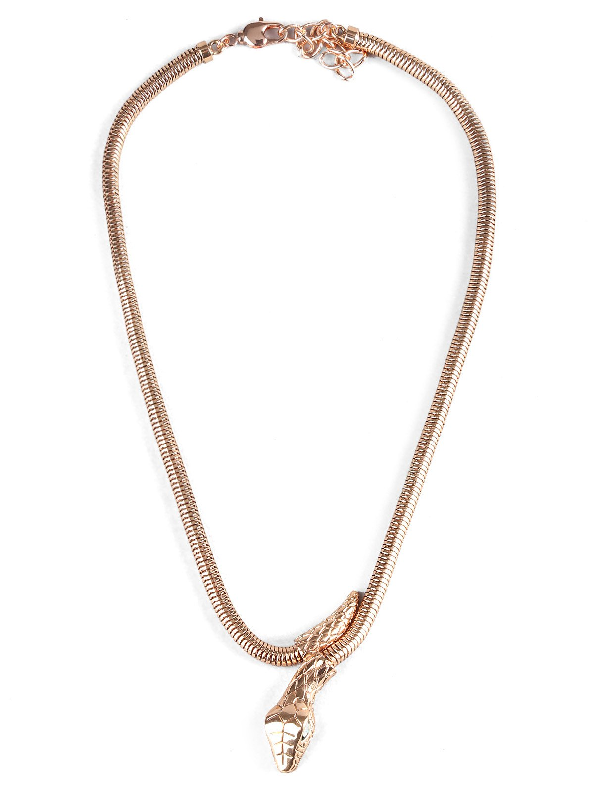 Sale Snake Shaped Alloy Necklace