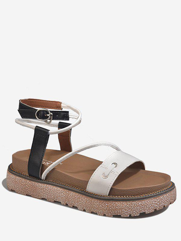Affordable Leisure Outdoor Crisscross Ankle Strap Sandals