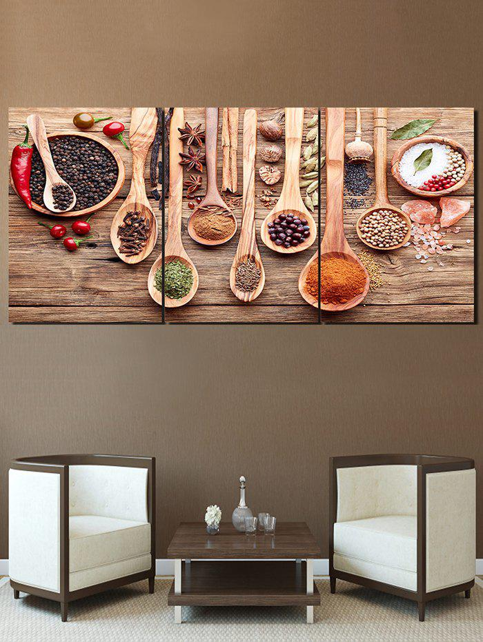 Store Flavoring Print Unframed Split Canvas Paintings